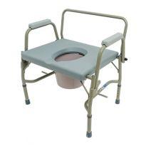 Кресло-туалет с откидными поручнями 10582 ( макс. 205 кг.)