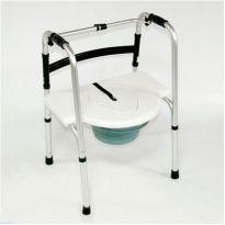 Сиденье с крышкой и съемной ёмкостью стула-кресла с санитарным оснащением 935 BS