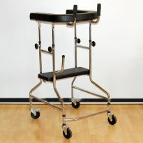 Опоры-ходунки ортопедические, регулируемые по высоте на 4-х колесах LK3003W