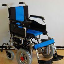 Инвалидная коляска с электроприводом LK 1008 (складная)