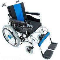 Инвалидная коляска с электроприводом  FS101А-46 (складная)