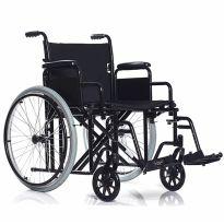 Кресло-коляска, широкая BASE 125 (нагрузка до 150 кг)