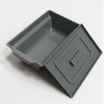 Судно санитарное прямоугольное (для кресло-туалетов и инвалидных колясок)