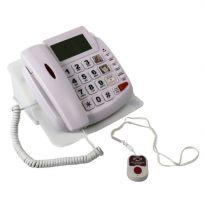 Телефон для слабослышащих, со встроенной индукционной системой