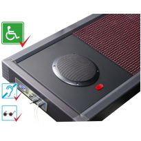 Визуально-акустическое табло с разрешением 32х96