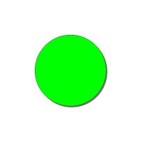 Контурный круг 200 флуоресцентный