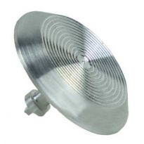 Алюминиевый тактильный индикатор КТ 02 (AL) l-15. 35 x 35 x 5мм
