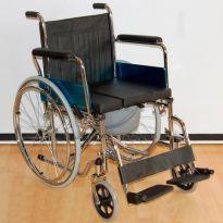 Кресло-коляска с туалетным устройством Мега-Оптим FS 681-45