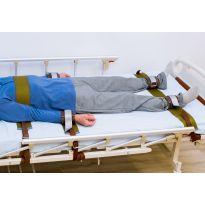 Кожаные фиксаторы-ремни лежачего человека
