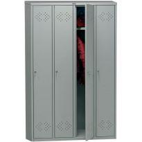 Шкаф 4-створчатый 4-секционный для одежды Практик МД LS(LE)-41 10256