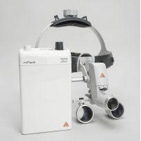 Налобный осветитель Heine ML4 LED с лупами бинокулярными HR/HRP