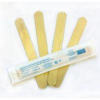 шпатель медицинский деревянный стерильный