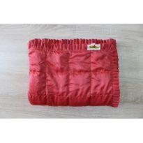 Утяжеленный плед водоотталкивающая ткань с рюшами (полимер)