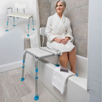 Стул для ванной широкий Ortonica LUX 625