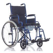 Кресло-каталка с санитарным оснащением Ortonica TU 55 (до 130 кг)
