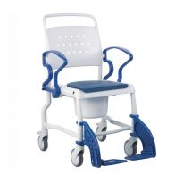 Кресло-каталка с туалетным устройством Rebotec Бонн (подходит для душа, до 130 кг)
