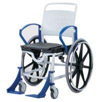 Кресло-каталка с санитарным оснащением Rebotec Генф (подходит для душа, до 130 кг)