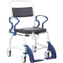 Кресло-каталка с санитарным оснащением Rebotec Нью-Йорк (подходит для душа, до 150 кг)