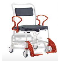 Кресло-каталка с туалетным устройством Rebotec Чикаго (подходит для душа, до 200 кг)