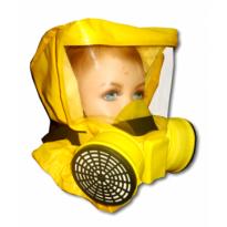 Самоспасатель УФМС «ШАНС»-Е c малой полумаской (детская модель)