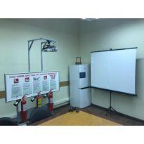 Интерактивный тренажерный комплекс «ШАНС» по применению первичных средств пожаротушения