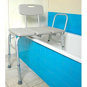 Стул для ванны широкий 10466 (с увеличенными ножками)