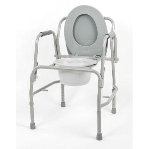 Кресло-туалет с откидными  поручнями 10583