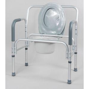 Кресло-туалет для полных людей, широкий 10589