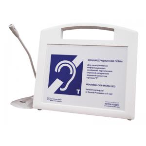 Портативная информационная индукционная система для слабослышащих Исток А2 с петличным радиомикрофоном и встроенным плеером