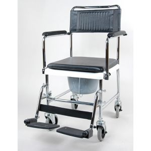 Кресло-каталка с туалетным устройством  5019W2