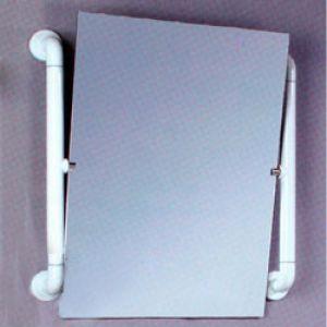 Поручни с зеркалом, для санитарно-гигиенических комнат 8890