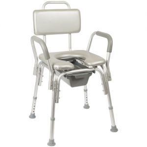 Кресло-туалет с мягким стульчаком AU-791