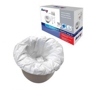 Одноразовые пакеты с абсорбентом Bag 20 ( для туалетов)