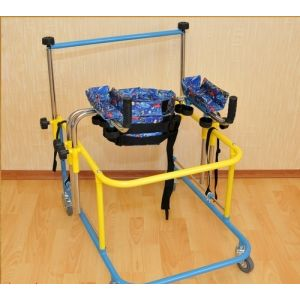 Опоры-ходунки ортопедические для детей больных ДЦП FS 966 LH (размер M)