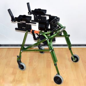 Ходунки на 4-х колесах для больных дцп с подлокотной опорой HMP-KA 2200
