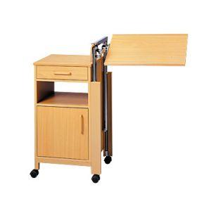 Медицинская прикроватная тумбочка  с поворотным столиком Nati85 (Cherusker)