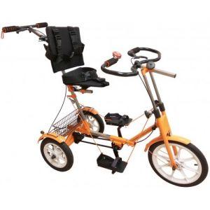Велотренажёр-велосипед реабилитационный Ангел-СОЛО 3М (для детей)