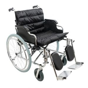 Широкая инвалидная коляска Barry R2 (до 120 кг)