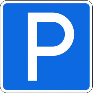 """Дорожный знак 6.4 """"Парковка"""""""