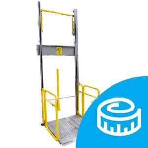 Подъёмник вертикального перемещения индивидуальный