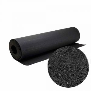 Рулонное резиновое покрытие (чёрный) 10640 1250мм