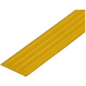 Направляющая тактильная лента желтая ЛТ50 (Ж) самоклеящаяся