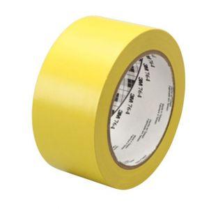Лента для контрастной маркировки дверных проемов и ступеней, 50 желтый