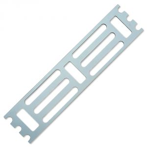 Трафарет для установки индикаторов по средствам приклеивания 210х950х4 мм.