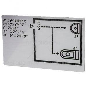 Металлизированная мнемосхема 321x411