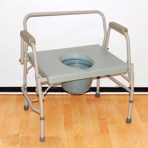 Кресло-туалет с откидными поручнями HMP 7012 (180 кг)