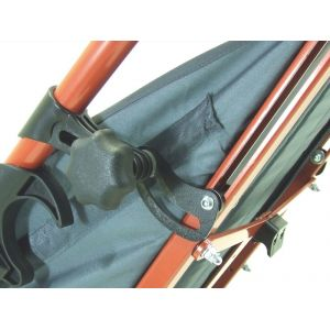 Регулировка угла наклона спинки 30 градусов для коляски HOGGI Zip