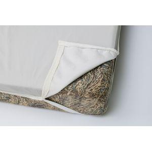 Наматрасник непромокаемый, на резинке  (ткань Dahlia/Bielastic)