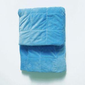 Утяжеленный плед из ткани велсофт (полимер)