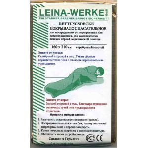 Покрывало изотермическое спасательное Leina Werke